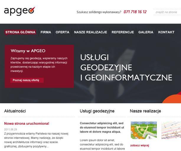 Apgeo geodezja